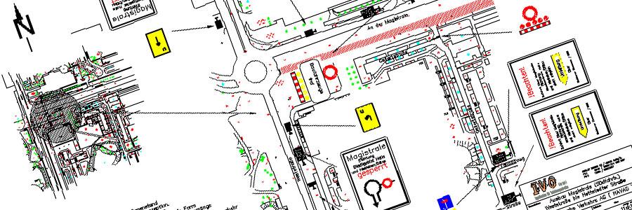 Verkehrszeichenplan